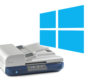 Scanner and windows 8 logo