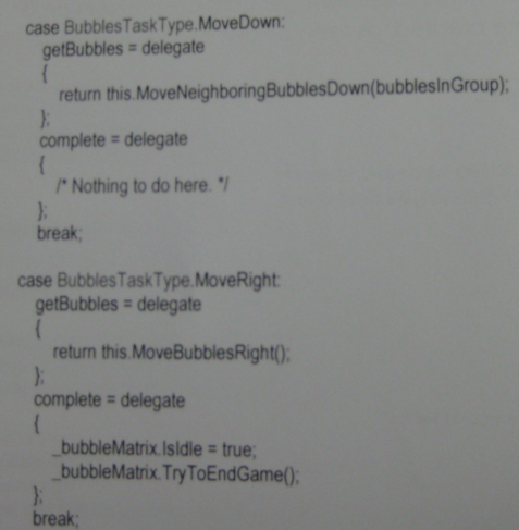 bubbleTaskType enum switch statement