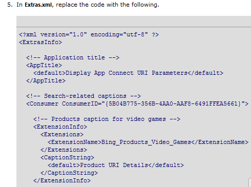 Search Extensiblity changes in Extra.xml