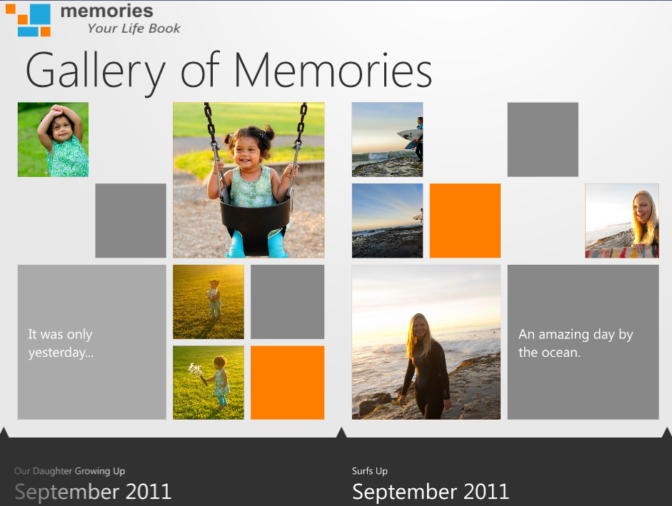 default visuals for memories app pre-modification