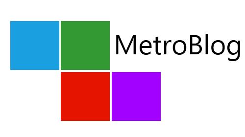 Metro Blog Logo