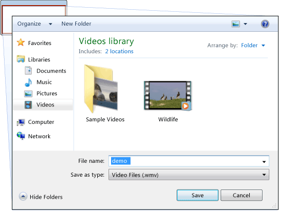 SaveFileDialog Print Screen
