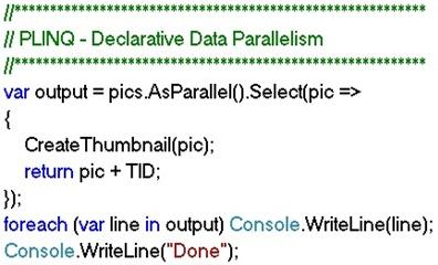 PLINQ foreach loop