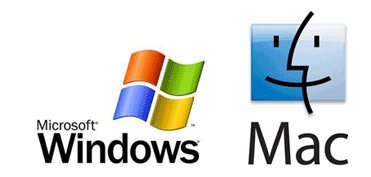 Mac and Windoes Logos