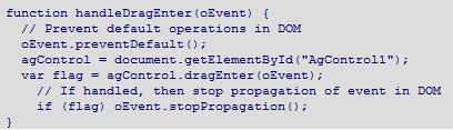 Mac javascript for Silverlight 4 Drop support
