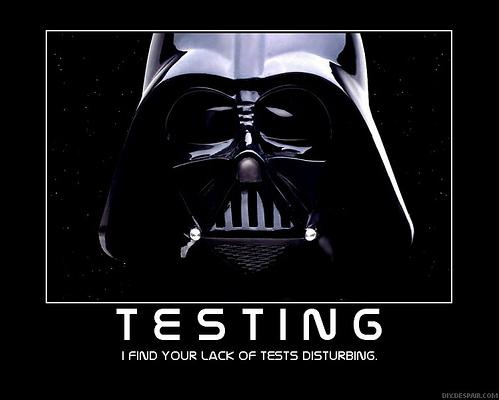 Testing Advertisement
