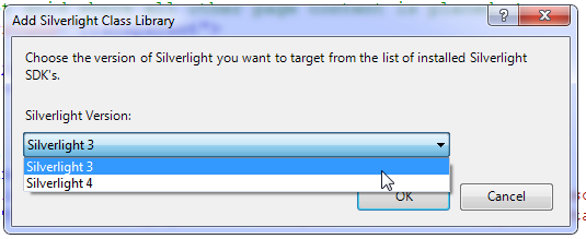 Use Silverlight version 3